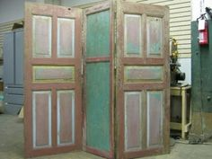 room divider made from old doors | Doors of Perception « from the source