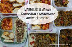 Quebrando um tabu cultural, hoje quero te falar sobre como comer bem e economizar muito dinheiro com as marmitas semanais.