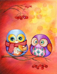 Night owls ~ You and Me !!