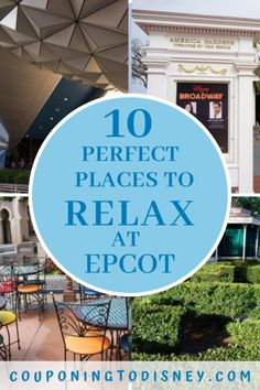 10 Perfect Places To Relax At Epcot Disney World Vacation Planning, Walt Disney World Vacations, Cruise Vacation, Disney World Rides, Disney World Parks, Walk Around The World, Around The Worlds, Disney Tickets, Places In Florida