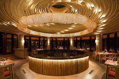 Sala Thai restaurant interior at Six Senses Qing Cheng Mountain, China. www.sixsenses.com