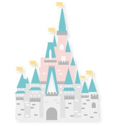 Princess Castle SVG scrapbook cut file cute clipart files for silhouette cricut pazzles free svgs free svg cuts cute cut files
