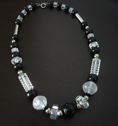 Vintage Lucite Bead Necklace by LisaWitmerCollection on Etsy, $18.00