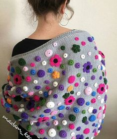 - Source: Madam Kece >> If - Crochet Blanket - Best Knitting Love Crochet, Crochet Shawl, Hand Crochet, Crochet Baby, Knit Crochet, Knitting Designs, Knitting Patterns, Crochet Patterns, Crochet Ideas