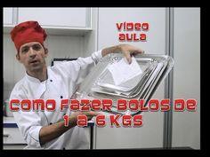 Como fazer bolos de 1 kg a 6 kg - YouTube