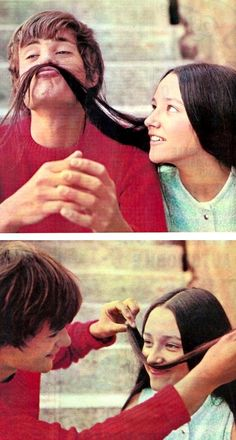 Olivia Hussey and Leonard Whiting... there's a reason this is the best Romeo and Juliet.