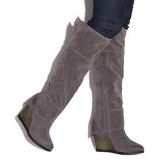 Love a good wedge boot