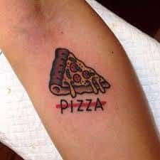 Pizza Tattoo 41