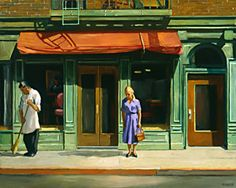 Sally Storch, another Edward Hopper