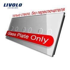 $8.57 (Buy here: https://alitems.com/g/1e8d114494ebda23ff8b16525dc3e8/?i=5&ulp=https%3A%2F%2Fwww.aliexpress.com%2Fitem%2FLivolo-Luxury-Grey-Pearl-Crystal-Glass-For-DIY-Switch-223mm-80mm-EU-standard-Triple-Glass-Panel%2F32702679333.html ) Livolo Luxury Grey Pearl Crystal Glass For DIY Switch,223mm*80mm, EU standard, Triple Glass Panel,VL-C7-C2/C2/C2-15 for just $8.57