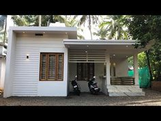 Watch our brand new single story house for 12 lakhs. It is a 2 bedroom single story with best interior.This 12 lakhs only include construction and interior w. Cool House Designs, Modern House Design, Single Floor House Design, One Storey House, Front Elevation Designs, Single Story Homes, Kerala Houses, Story House, Best Interior