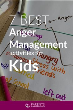 Inside: Discover 7 quick and easy anger management activities for kids from a child therapist you can do with no preparation that help build healthy coping skills. Unmanaged anger holds the potential to derail a day, Kids Coping Skills, Coping Skills Activities, Group Activities, Anger In Children, Anger Management Activities For Kids, Stress Management, Dealing With Anger, Angry Child, Mindfulness For Kids