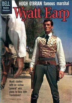 WYATT EARP (ABC-TV) - Hugh O'Brian as 'Wyatt Earp' - Comic Book