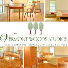Vermont Woods Studios - Fine Furniture from Sustainable Sources