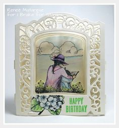 I Brake for my Mom's Birthday! Handmade Birthday Cards, Handmade Cards, 70th Birthday, Happy Birthday, Thunder Clouds, Becca Feeken Cards, 3d Projects, Mother And Child, Happy Saturday