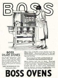 Boss Ovens (1927).