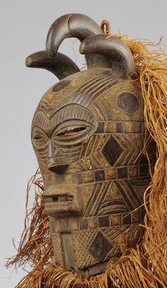 Masque - Tetela - mask - Congo RDC -  Songye -MC0325