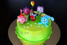 Торт со смешариками фото 1