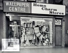 Photograph of Home Charm shop in Forest Gate ephemera  1966