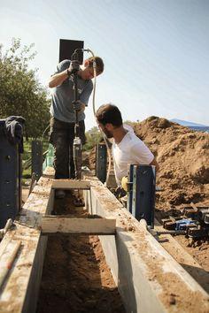 Rammed earth contractors' workshop 2013 - studies