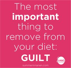In the last post, I was talking about the most important thing you need to remove from your diet in order to overcome overeating: guilt. Today, I talk about 5 ways to minimize guilt. Health And Wellness Coach, Health Fitness, Better Life, Feel Better, Self Love Affirmations, Motivation Goals, Intuitive Eating, Mindful Eating, Eating Well