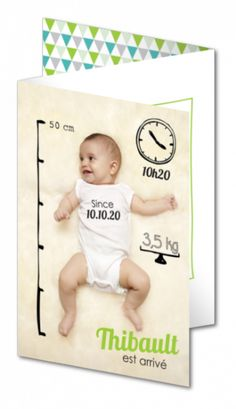 Faire part naissance original │ Planet-Cards.com