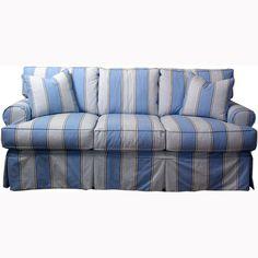 Slipcover Sofa   3 Seat   EM