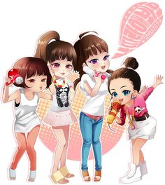 kpop  2ne1 by shine1234.deviantart.com on @deviantART