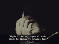 #ygnor #citaty #smrt Sad Quotes, Picture Quotes, Depression, Poetry, Words, Pictures, Life, Fotografia, Photos