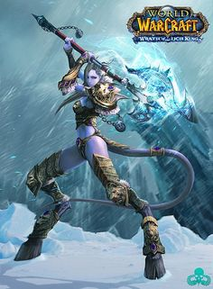 Warcraft - Draenei Female #world_of_warcraft_pins #world_of_warcraft CLICK HERE AND DOWNLOAD THE BEST WOW ADDON EVER  www.world-of-warcraft-gold-addon.com