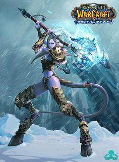 Warcraft - Draenei Female