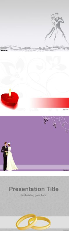 I Love You PowerPoint background Template for love presentations - wedding powerpoint template