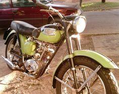 Motorcycle Triumph Tiger Cub 200