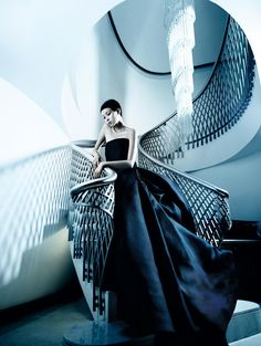 the winter queen: xiao wen ju by mario testino for vogue china december 2013