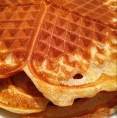 Belgiska våfflor - Victorias provkök Fika, Churros, Baking Recipes, Cupcake, Brunch, Food And Drink, Sweets, Breakfast, Conch Fritters