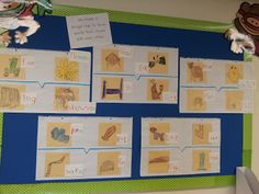 Chalk Talk: A Kindergarten Blog: thinking maps - rhyming words