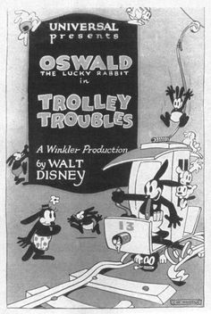 Trolley Trouble #Oswald the Lucky Rabbit