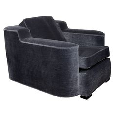 Art Deco Streamline Club Chair