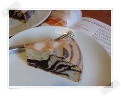 Mini-Zebrakuchen: runde Form, 20 cm Mini, Cake Recipes, Pudding, Desserts, Food, Small Cake, Circuit, Recipies, Tailgate Desserts