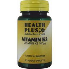 Health Plus - Vitamin K2 100ug 60 VTabs