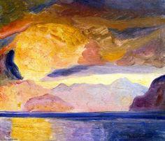 Alaska by Rockwell Kent (1882-1971, United States)