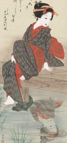 """Résultat de recherche d'images pour """"geisha estampes"""""""