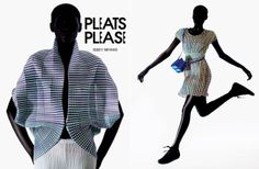 issey3 Issey Miyake F/W 13.14 Pleats Please | AD Campaign