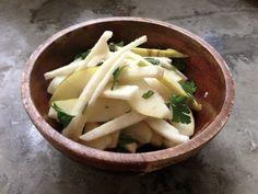Autoimmune Paleo:   1 Comment  Jicama, Pear, and Mint Salad with Citrus-Ginger Dressing
