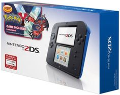 {Quick and Easy Gift Ideas from the USA}  Nintendo 2DS Handheld Gaming System with Pokemon Y (Blue) http://welikedthis.com/nintendo-2ds-handheld-gaming-system-with-pokemon-y-blue #gifts #giftideas #welikedthisusa