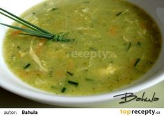 Brokolicová polévka s mrkví recept - TopRecepty.cz Czech Recipes, Ethnic Recipes, Weight Loss Smoothies, Cheeseburger Chowder, Guacamole, Soup Recipes, Food And Drink, Yummy Food, Meals