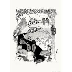 Deep Woods poster i gruppen Tavlor & Posters / Posters hos RUM21.se (116385)