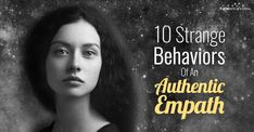 10 Strange Behaviors You'll Notice In And Around An Authentic Empath Being an empath is not easy. Ignorance only makes it worse. The thing is, you just sense other emotions- you start feeling it. Awakening Quotes, Spiritual Awakening, What Is An Empath, Being An Empath, Empath Abilities, Psychic Abilities, Spiritual Eyes, Highly Sensitive Person, Narcissistic Behavior