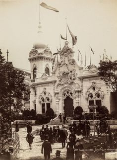 Paris built the Eiffel Tower as an entrance for this extravagant 1889 event