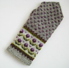 Latvian Mitten but in particular I love the combo of patterns and colors